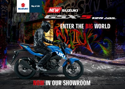 Enter the BIG world with the NEW SUZUKI GSX S 125
