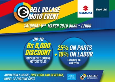 Emcar Bell Village Moto Event