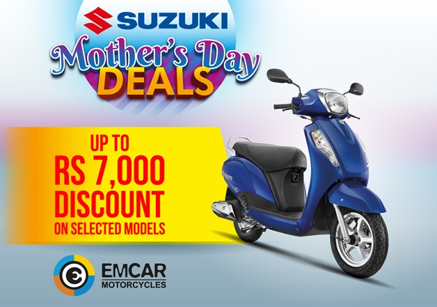 Emcar Motorcycles Mother's Day Campaign